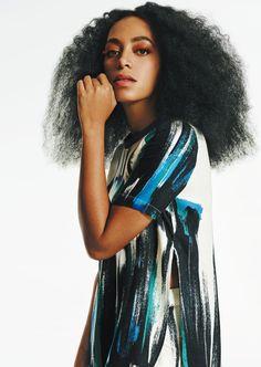 Solange Knowles Eleven paris spring 2015 ad campaign