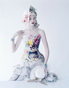Fashion Photography...by Tim Walker, Vogue, January 2012.