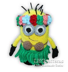 Minion Bag, Minions, Minion Beanie, Minion Gifts, Minion Crochet Patterns, Minion Pattern, Unicorn Pattern, Minion Pillow, Crochet Flamingo
