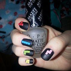 #nailart #nailstuds #mattenails