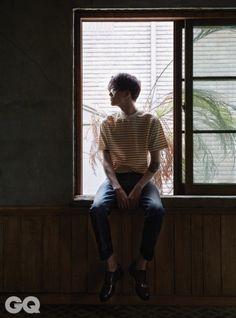 Kim Won Joong by Shin Seon Hye for GQ Korea June 2015