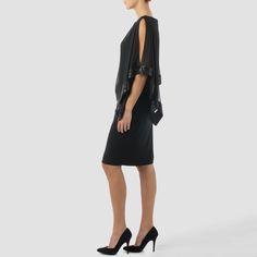 Joseph Ribkoff dress style 154377 - Black | 1ère Avenue