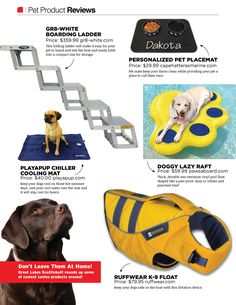 Boating with Pets? Check out some of our favorite products!