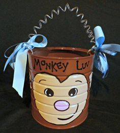 Check out this item in my Etsy shop https://www.etsy.com/listing/220294518/monkey-luv-critter-can-valentines-gift