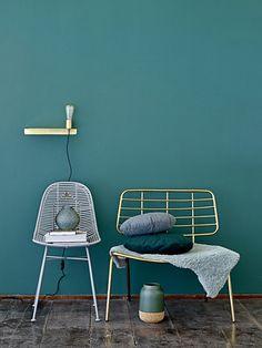 Weblog Wonenonline.nl - wonen - interieur - design: Bloomingville lounge chair steelt de show