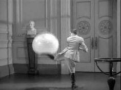 The Great Dictator (1940) - Hynkel, Dictator of Tomania (Charles Chaplin) plays with the Globe.