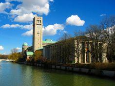 Das Deutsche Museum auf der Museumsinsel ist jährlich das meistbesuchte Museum Deutschlands.