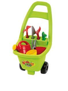 Wózek ogrodowy z akcesoriami dla każdego dziecka. marka: Ecoiffier, cena 58,00zł Do kupienia http://www.modnelobuziaki.pl/komplet-trzyczesciowy-dla-chlopca-id-21