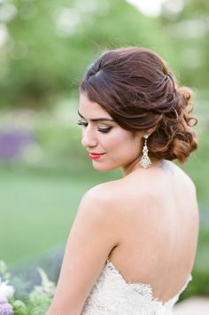Photography: Tamara Gruner Photography   www.tamaragruner.com/ Wedding Dress: Lazaro From Bella Bianca    www.bellabianca.com/   View more: http://stylemepretty.com/vault/gallery/35805