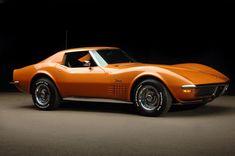 Ontario Orange 1972 Corvette Stingray Coupe