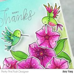 Handcrafted Cards Made With Love Bird Cards, Butterfly Cards, Flower Cards, Free Hand Drawing, Hand Drawings, Pretty Pink Posh, Paper Roses, Copics, Greeting Cards Handmade
