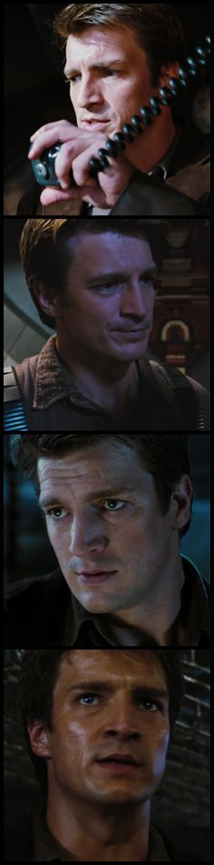 Firefly: A friendly reminder of how ruggedly handsome Captain Malcolm Reynolds is....{sigh}