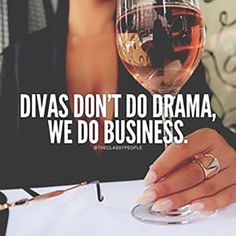 No thanks. Better things to do. Divas don't do drama, we do business.