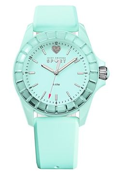 Juicy Couture watch in #mint http://rstyle.me/n/f2spknyg6