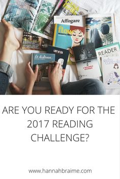 Are you ready for a 2017 reading challenge? Click through to get your 26-book and 52-book challenge checklists!