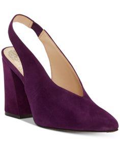 f4e902ae50 Vince Camuto Tashinta Slingback Pumps - Purple 5.5M Sapatos Femininos