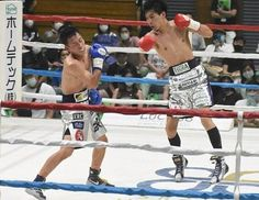 Shimomachi keeps Japanese youth 122lb belt Sprained Ankle, Thing 1, Referee, Boxing News, Kos, Youth, Deck, March, Japanese