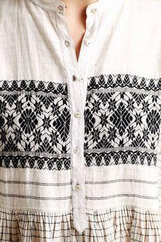 Sarala Embroidered Tunic by Injiri