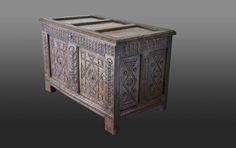 16th century chest, Marhamchurch antiques