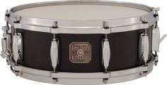 """Gretsch 5"""" x 14"""" Maple Snare Drum by Gretsch. $329.00. The 10-ply Maple snares feature a 100% Maple shell with Gretsch silver sealer, Die Cast hoops, Evans drum heads, and adjustable throw-off.. Save 35%!"""