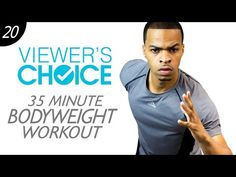 35 Min. INSANE Total Body Explosive Bodyweight Workout without Weights | Viewer's Choice #20 - YouTube