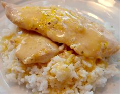 Crockpot Lemon Herb Chicken. A perfect summer meal