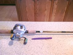 Soft plastic ultimate set-up... G Loomis BCR803 GLX with Shimano Chronarch 50mg w/ Sunline FC Sniper 14 lb Fluorocarbon.  20' and under you can't beat this!!