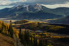 Fall Settles In. Crested Butte Colorado