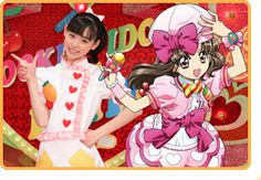 When Haruka Fukuhara starred on the Cooking Idol. A cooking show had been aired by NHK for 4 years long that animation stories and cooking minutes were combined into a program. She played Main (speak máin, not méin) as an actress and also a seiyu. クッキンアイドル アイ!マイ!まいん! #girl #japan #model