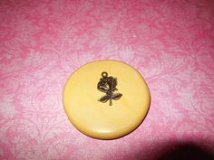 Rose Pendant Mold, silicone mold, craft, porcelain, resin, jewelry mold, food mold, pop up mold, clays mold, flexible, charms, fondant