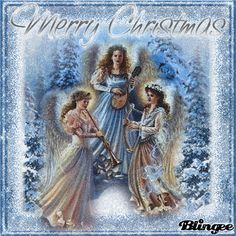 Merry Christmas To My Blingee Friends