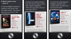 Ask Siri About Robot Movies-- With iOS 6, Siri gained some new super powers - like the ability to check on sports scores, make restaurant reservations, even find out info on movi