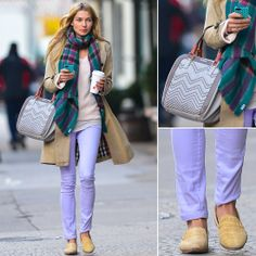Jessica Hart with Miss-01 bag
