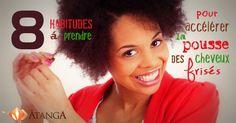 8 habitudes à prendre pour accélérer la pousse des cheveux frisés