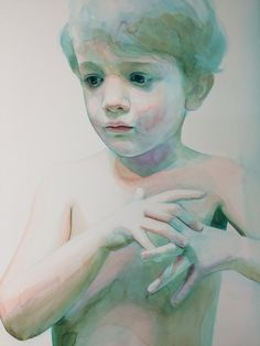 Immerse: Watercolor Paintings of Children by Ali Cavanaugh — capturing the essence and beauty of innocence