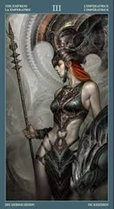 Card of the Day – The Empress – Sunday, October 2016 « Tarot by Cecelia High Fantasy, Dark Fantasy Art, Fantasy Women, Sci Fi Fantasy, Nerd Poker, Tarot By Cecelia, Serpieri, Art Costume, The Empress