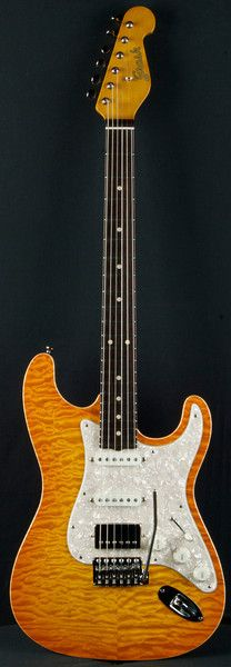 Grosh Guitars NOS MT Lemon Burst