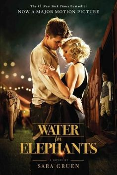 Water for Elephants - Really liked this one, even with Robert Pattinson as a lead. Not sure he and Reese Witherspoon had the best chemistry, but I liked the movie. Hard to argue with a film that has a lovable elephant that steals the show. Elephant Book, See Movie, Movie Tv, Movie List, Book Tv, The Book, Water For Elephants, Bon Film, Chick Flicks