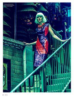 china girl: ali whitfield by max salvaggio for grazia netherlands 16th april 2013