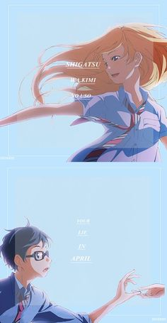 Shigatsu Wa Kimi No Uso / Your Lie In April
