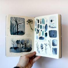 """6,024 Likes, 131 Comments - adolfo serra (/adolfoserra/) on Instagram: """"Procesos """"El bosque dentro de mí"""". Book process """"The forest in me"""""""""""