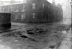 Parsonage Street, Hulme, 1914 by mcrarchives, via Flickr