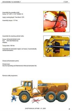 Tractor Manuals & Publications Business, Office & Industrial Lovely Moxy Mt36 Series 11 Dumptruck Brochure
