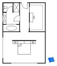 Résultats de recherche d'images pour « master bedroom floor plans with bathroom »