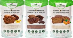 Simple Mills Almond Flour Muffin Mixes Variety Pack - Tried the Banana and it's ah-mazing!! Try them out!