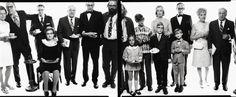 'Allen Ginsberg's family', New Jersey.  'ALLEN GINSBERG'S FAMILY', NEW JERSEYLa familia del poeta Allen Ginsberg, en el centro, retratada por Richard Avedon el 3 de mayo de 1970 (Photograph by Richard Avedon © The Richard Avedon Foundation)  Ver más en: http://www.20minutos.es/fotos/artes/los-murales-de-avedon-8520/#xtor=AD-15&xts=467263