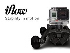 IFLOW | A Portable Dolly For DSLR, Compact Camera & Iphone by Cliché, via Kickstarter.  A new universal dolly to stabilize your camera when you're shooting, latches on existing surfaces in seconds!