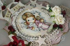 Audhilds Hobbyblogg Magnolia, Desserts, Food, Cards, Tailgate Desserts, Deserts, Magnolias, Essen, Postres