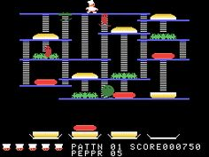 Burger Time OMG the best game on Atari except pitfall