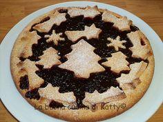 La buona cucina di Katty: Crostata di prugne di Natale
